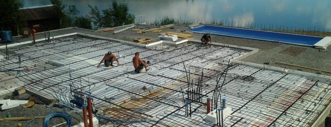 Vgradnja themotech talnega ogrevanja v beton