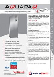 Toplotna črpalka VarmeMecaterm AquaPaQ - tehnični list