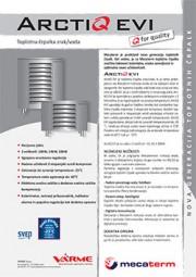 Toplotna črpalka VarmeMecaterm ArctiQ-EVI - tehnični list