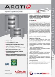 Toplotna črpalka VarmeMecaterm ArctiQ - tehnični list
