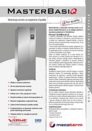 Tehnični list notranje enote VarmeMecaterm - MasterBasiq