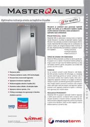 Tehnični list notranje enote VarmeMecaterm - MasterQal500