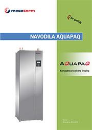 Navodila za uporabo in vgradnjo toplotne črpalke VarmeMecaterm AquaPaQ