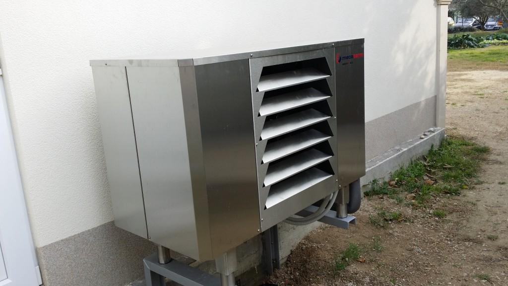 VarmeMecaterm ArctiQ - toplotna črpalka zrak voda